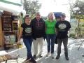 Fam. Strasser mit unserer Obfrau und dem Organisator der Reise