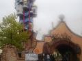 Biergarten und Turm